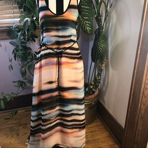 ANTHROPOLOGIE Sanctuary Maxi Dress Size Small